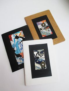 Three Collaged Covers for Three Small Journals