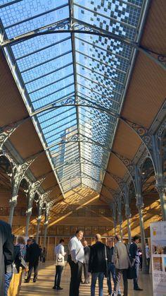 https://flic.kr/p/BK3Bnn | Paris Novembre 2015 - 191 le Carreau du Temple et sa toiture photovoltaïque