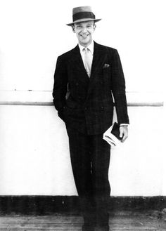 "fred astaire | ""i think his whole style is english. he would have things sent from england. he used to get his clothes made at anderson & sheppard. sometimes the movie people would wonder if he didn't look too english; they wondered if they shouldn't americanize him a little."" [hermes pan]"