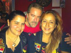 Nuestras bellas Damas de LAMA Santo Domingo, D.N., R.D. comparten con el anfitrión Roy Bencosme, Presidente de Nativos MC. 12 de Junio, 2013.