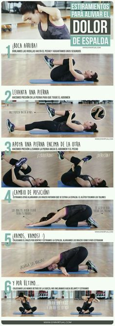Fitness ejercicios espalda 47 Ideas for 2019 Yoga Fitness, Health Fitness, Motivation Yoga, Psoas Release, Estilo Fitness, Gym Time, Excercise, Back Pain, Cardio
