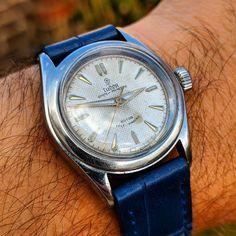 "65cba22dfcb Gungadin Watches on Instagram  ""Super Vintage Rolex Tudor Oyster Prince 31  Automatic Midsize Wristwatch model 7810 c.1950s Serviced…"""
