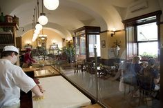 Don't miss out the First Strudel House of Pest and its wide range of Hungarian strudels and coffees.