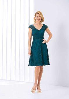 Jasmine Black Label M180055 Green Mother Of The Bride Dress