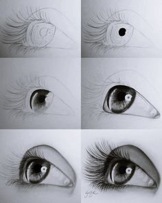 Pencil Drawings Tutorials Drawing-Tutorial-for-Occasional-Artists - While there are tons of things out there to draw, it is not simple always. However, these Drawing Tutorial for Occasional Artists will help you out. Pencil Art Drawings, Easy Drawings, Drawing Sketches, Drawing Art, Food Drawing, Sketches Of Eyes, Easy Portrait Drawing, Drawing Techniques Pencil, Pencil Drawings For Beginners