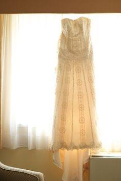 Maggie Sottero Gatsby dress.