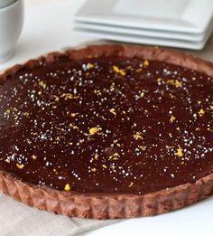 Τάρτα σοκολάτας: η καλύτερη συνταγή που έχετε δοκιμάσει (εγγυημένα) Keto Chocolate Recipe, Chocolate Cake, Holiday Baking, Keto Snacks, Pie Recipes, Nutella, Sweet Treats, Deserts, Food And Drink