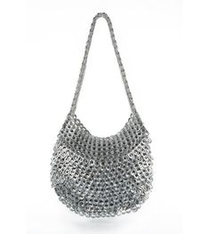 Greta Shoulder Bag metallic purse handmade fairtrade