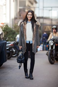 Fashion Week Street Style: Liu Wen | The Front Row View