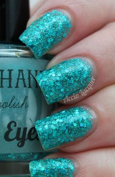 Happy Hands For British Eyes Only (round bottle as shown in pic) swatched 2 nails $7