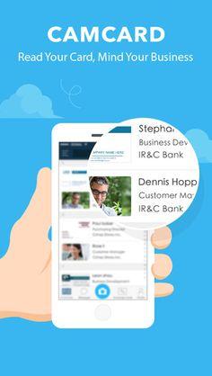 CamCard - Business card scanner & Business card reader & scan card iNTSIG Information Co.,Ltd 제작 명함 스캐너 관리