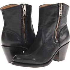 'Cos you can never have too many boots.  Frye Leslie Zip Bootie