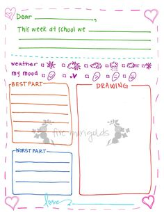 A PenPal Writing Set For Kids  Pen Pals Free Printable And Free