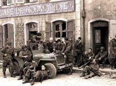 After taking Carentan, Normandy '44