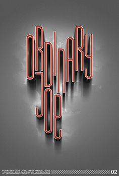 Typography Inspiration n°58 !