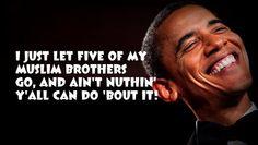 #ObamaDoctrine: Freeing Terrorists Signaling 'Open Season' on Americans: http://shar.es/VQFYy via @Breitbart News || pic.twitter.com/PcyG7u8chO