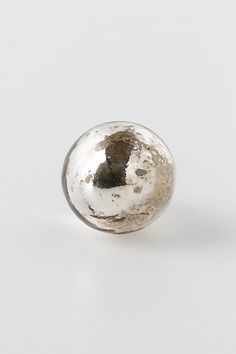 Silvered Mirror Knob, Petite Orb - Anthropologie.com