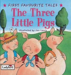 The True Story of the 3 Little Pigs-book with various lessons to go along with the story. From Public School SLPs.
