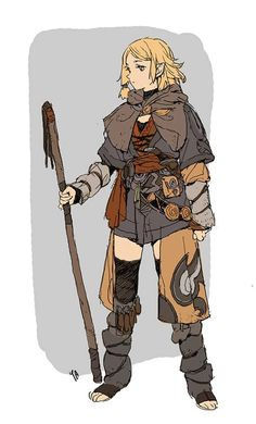 Art by Kim Il Kwang* Layering fabric inspiration Female Character Design, Character Creation, Character Design References, Character Drawing, Character Design Inspiration, Character Illustration, Character Concept, Concept Art, Dungeons And Dragons Characters