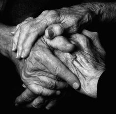 warmth knotted hands