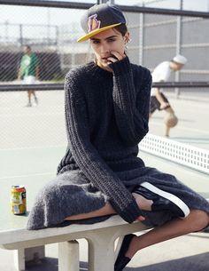 visual optimism; fashion editorials, shows, campaigns & more!: charlotte coquelin by stefano galuzzi for d la repubblica #914 november 2014