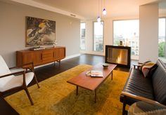 Common room with Swedish Sofa design