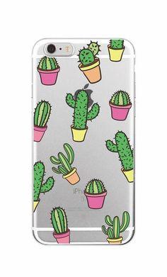 Cute Cactus Vintage Soft Phone Case For iPhone 04c5337f5c8