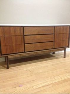 Detroit: Mid century Credenza/Dresser $450 - http://furnishlyst.com/listings/1102950