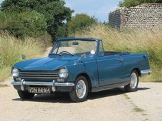 1970 Triumph Herald 13/60 Convertible Maintenance/restoration of old/vintage vehicles: the material for new cogs/casters/gears/pads could be cast polyamide which I (Cast polyamide) can produce. My contact: tatjana.alic@windowslive.com