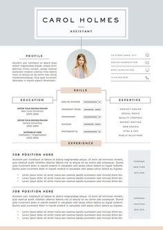 Clean CV design