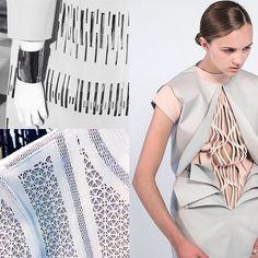 К сожалению дизайном одежды мы пока не занимаемся но вдруг им занимаетесь вы?! Такую вот красоту можно создать с помощью лазера! #fashion #design #lasercut #leaser #pattern #textile #мода #лазер #резка #москва by voskilev