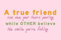 Best friends aren't fake.