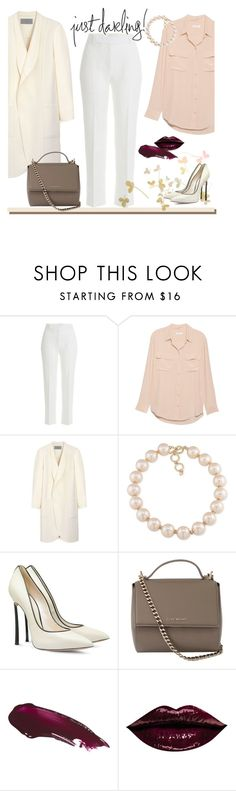 """I'm not afraid"" by edita-m ❤ liked on Polyvore featuring 3.1 Phillip Lim, Equipment, Mulberry, Carolee, Casadei, Givenchy, women's clothing, women, female and woman"