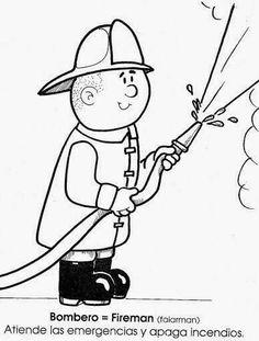 🥇 100 【 PROFESIONES EN INGLÉS Y ESPAÑOL 】+✚ Ejercicios 💥 English Grammar, Charlie Brown, Spanish, School, Kids, Pictures, Fictional Characters, Community, Kids Bible Activities