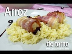 Arroz de Forno • www.luisaalexandra.com - YouTube Rice, Make It Yourself, Food, Youtube, Rice Recipes, Cook, Ideas, Eten, Meals