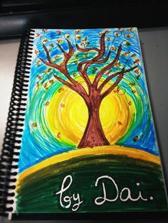 Siempre sale el sol... Cositas que hago en papel para relajarme. 28/05/2012