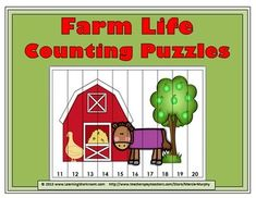Farm Life Counting Puzzles