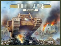 Plastic Soldier Company Ltd - Tank! An expansion pack for The Great War + Bonus Whippets! View HERE: http://www.michtoy.com/item-PSC-TGW002-Tank!_An_expansion_pack_for_The_Great_War_by_Richard_Borg_and_Plastic_Soldier_Co..html