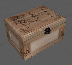 Crate: Jewelry Box, Yvonne Lee on ArtStation at…