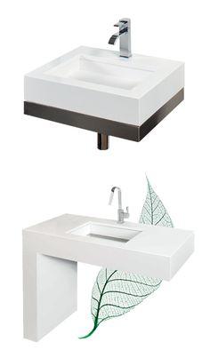 Hygiënische wastafels van Arte - http://www.voorlichtingsburowonen.nl/blog/index.php/2013/02/11/hygienische-wastafels/