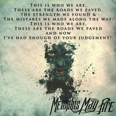 """""""Without Walls"""" Memphis May Fire"""
