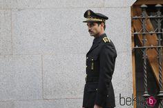 Rubén Cortada grabando 'Lo que escondían sus ojos' en Madrid