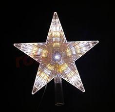 Cimier de sapin - étoile LED blanche http://www.rotopino.fr/cimier-de-sapin-etoile-led-blanche-bulinex-10-102,58133 #noel #decoration #rotopino #cimier #cimierdesapin