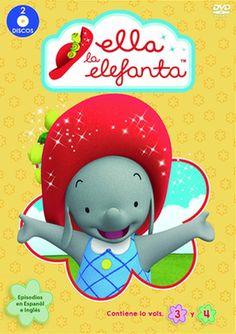 """""""Ella la elefanta es una animada serie preescolar que sigue las aventuras de Ella, una dulce, amable y generosa elefanta con un sombrero rojo mágico. Con suerte, un poco de imaginación, trabajo en equipo y su """"""""sombrero mágico"""""""" especial, Ella resuelve los problemas cotidianos con ayuda del sombrero rojo qué se transforma para ayudar a salvar el día."""" http://absys.asturias.es/cgi-abnet_Bast/abnetop?SUBC=03Elliot,240103&ACC=DOSEARCH&xsqf02=ella+elefanta+video"""