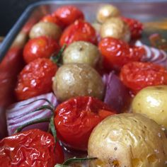 Roasted potatoes, to