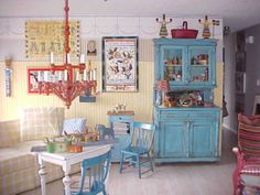 swedish country decor | Swedish Country, We enjoy the color and design of Sweden's Carl ...