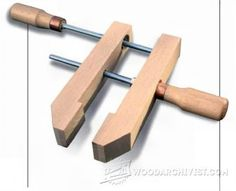DIY Deep Reach Clamps - Clamp and Clamping Tips, Jigs and Fixtures | WoodArchivist.com