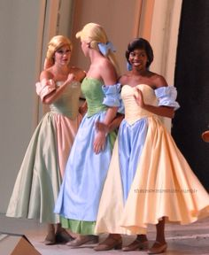 Little town girls. Beauty and the Beast Disney World
