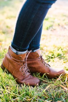 These Lace Up Bootie