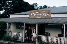 A Day at Harvest Cafe Newrybar. /